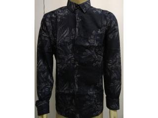 Camisa Masculina Colcci 310103496 Vc64 Preto Floral - Tamanho Médio