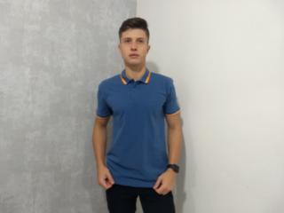 Camisa Masculina Colcci 250102190 33811 Azul - Tamanho Médio