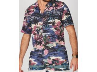 Camisa Masculina Colcci 310103240 Vc61 Estampado - Tamanho Médio
