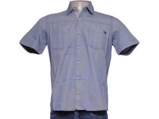 Camisa Masculina dj 01021721 Xadrez Preto - Tamanho Médio