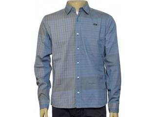 Camisa Masculina dj 01011606 Cinza - Tamanho Médio