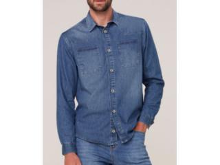 Camisa Masculina Dzarm Zilj 1asn Jeans - Tamanho Médio