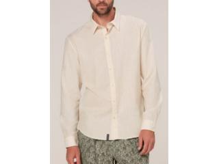 Camisa Masculina Dzarm Zilh 1aen Off White - Tamanho Médio