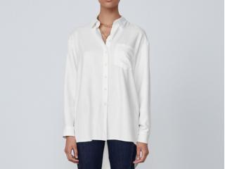 Camisa Feminina Dzarm Zimn Nmcen Branco - Tamanho Médio