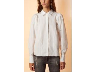 Camisa Feminina Forum 304601398 58529 Off White - Tamanho Médio
