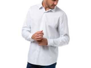 Camisa Masculina Forum 314602959 Branco/azul - Tamanho Médio