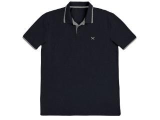 Camisa Masculina Hering 036h 3ren Preto/cinza - Tamanho Médio