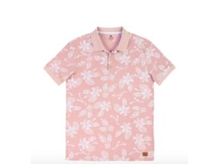 Camisa Masculina Hering 3m25 1nen Rosa Estampado - Tamanho Médio