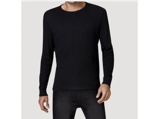 Camisa Masculina Hering 026x N1007s Preto - Tamanho Médio