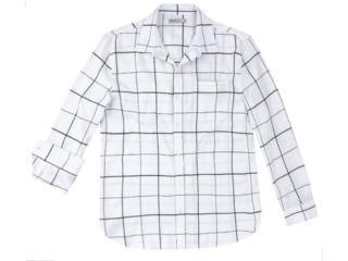 Camisa Masculina Hering Ktzc 1dsi Off White - Tamanho Médio