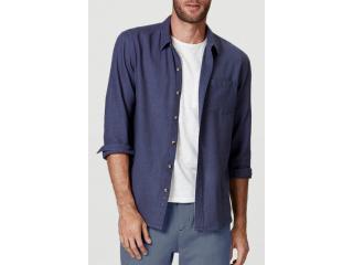 Camisa Masculina Hering K48f 1csi Jeans - Tamanho Médio