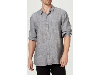 Camisa Masculina Hering Ktv7 1gsi Cinza - Tamanho Médio