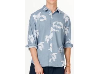 Camisa Masculina Hering Ktz4 1dsi Azul - Tamanho Médio