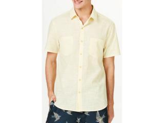 Camisa Masculina Hering H2ga Se10en  Amarelo - Tamanho Médio