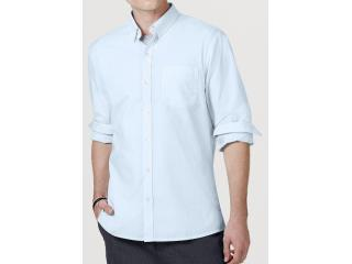 Camisa Masculina Hering K47b 1asi Azul Claro - Tamanho Médio