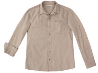 Camisa Masculina Hering K48f 1dsi Bege Escuro - Tamanho Médio