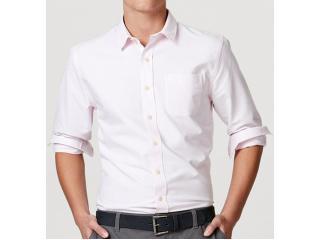 Camisa Masculina Hering K48w 1bsi Rosa Claro - Tamanho Médio