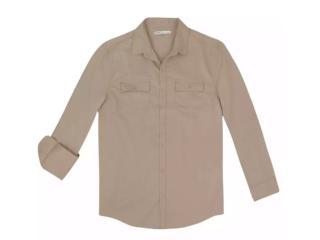 Camisa Masculina Hering K4dt 1asi Bege - Tamanho Médio