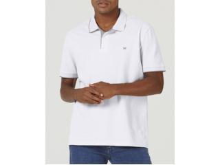 Camisa Masculina Hering 036h 5den Branco/cinza - Tamanho Médio