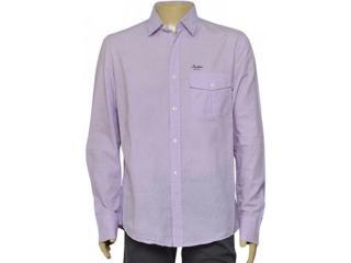 Camisa Masculina Index 07.01.000194 Lilas - Tamanho Médio