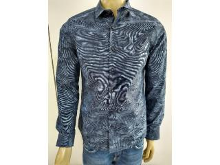 Camisa Masculina Individual 53.03.1002 48 Azul - Tamanho Médio