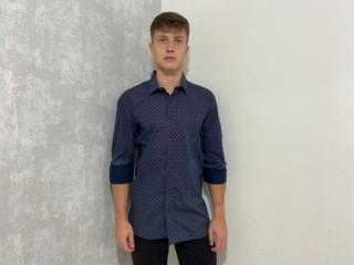 Camisa Masculina Individual 53.02.0558 94 Estampado - Tamanho Médio