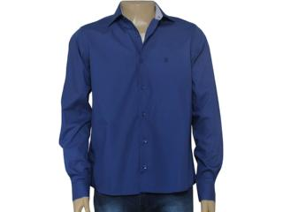 Camisa Masculina Individual 302.02446.001 Azul - Tamanho Médio