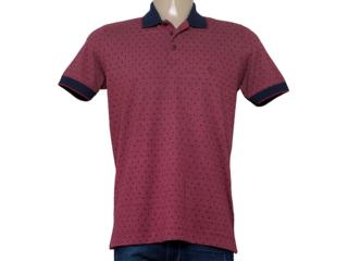 Camisa Masculina Individual 306.22222.116 Bordo/marinho - Tamanho Médio