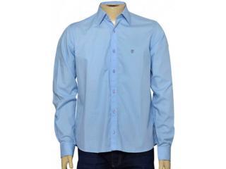 Camisa Masculina Individual 302.01017.033 Azul Claro - Tamanho Médio