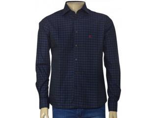Camisa Masculina Individual 302.44698.001 Marinho/preto - Tamanho Médio