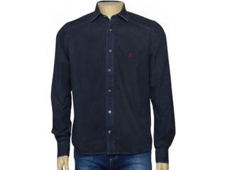 Camisa Masculina Individual 302.03867.001 Preto Estonado - Tamanho Médio