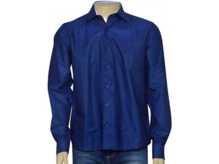 Camisa Masculina Individual 302.03846.012 Azul Escuro - Tamanho Médio
