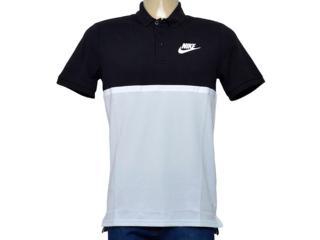 Camisa Masculina Nike 886507-011 Polo m Nsw Polo Matchup pq Preto/cinza - Tamanho Médio