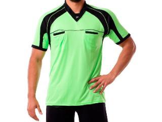 Camisa Masculina Poker 04051 Verde Neon/preto - Tamanho Médio