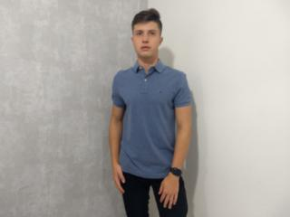 Camisa Masculina Tommy Th7803120 264 Jeans - Tamanho Médio