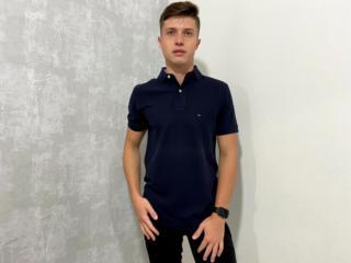 Camisa Masculina Tommy Th0867878433 Marinho - Tamanho Médio
