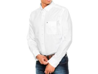 Camisa Masculina Tommy Th0867897746 Off White - Tamanho Médio
