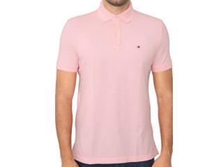 Camisa Masculina Tommy Th7803120 684 Rosa - Tamanho Médio