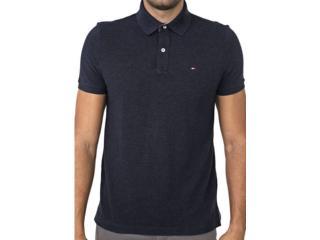 Camisa Masculina Tommy Th7803120 411 Marinho - Tamanho Médio