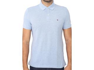Camisa Masculina Tommy Th7803120 425 Azul Claro - Tamanho Médio