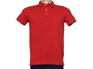 Camisa Masculina Tommy Th0857879131 Goiaba - Tamanho Médio