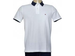 Camisa Masculina Tommy Th0887879046 Branco - Tamanho Médio
