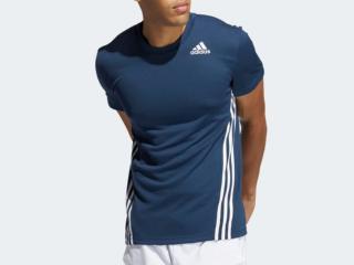 Camiseta Masculina Adidas Gm1066 Aero Marinho - Tamanho Médio