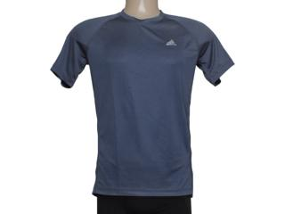 Camiseta Masculina Adidas M31253 Clima Ess Chumbo - Tamanho Médio