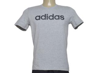 Camiseta Masculina Adidas Br4067 Comm m t Mescla - Tamanho Médio