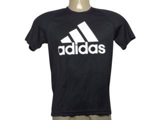 Camiseta Masculina Adidas Bk0937 D2m Tee l Preto - Tamanho Médio