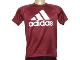 Camiseta Masculina Adidas Cz5321 D2m Tee l Vinho - Tamanho Médio