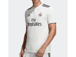 Camiseta Masculina Adidas Dh3372 Real Madri Branco/preto - Tamanho Médio