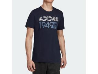Camiseta Masculina Adidas Ed7266 mh Lineage Tee Marinho - Tamanho Médio
