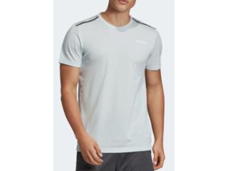 Camiseta Masculina Adidas Ei9763 m em Tee Azul Claro - Tamanho Médio
